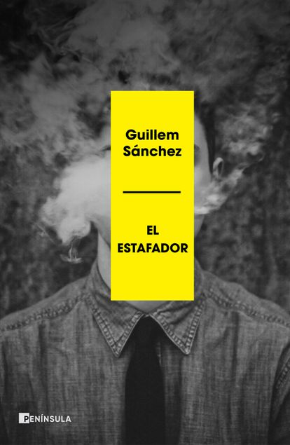 Portada de 'El estafador', el libro de Guillem Sánchez en el que relata la investigación periodística que desarrolló alrededor de Francisco Gómez.