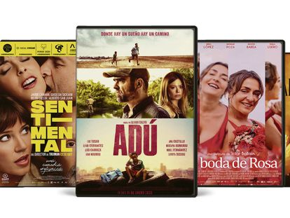 Algunos títulos de la colección 'Cine Goya'.