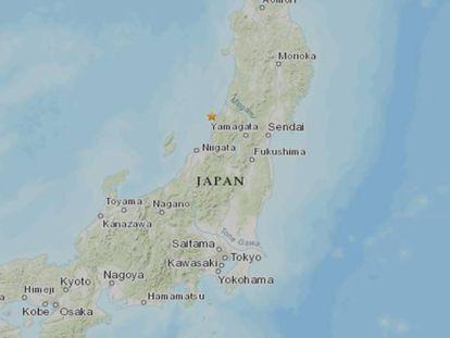 Mapa de Japón. En vídeo, así tembló la ciudad de Niigata durante el terremoto.