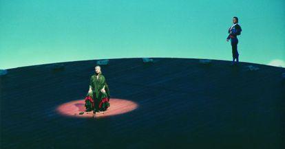 El montaje de Herbert Wernicke de 'Ay Amor' de Manuel de Falla.