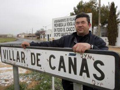 El alcalde de Villar de Cañas, José María Saiz.
