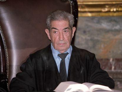 Alfonso Villagómez Rodil, magistrado de la Sala Primera del Tribunal Supremo, en 2003.