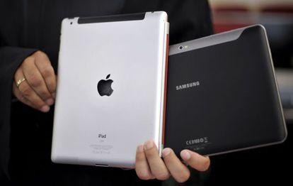 Apple acusa a Samsung de copiar sus diseños