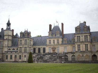 Castillo de Fontainebleau (Francia) donde se robaron quince piezas de valor incalculable.