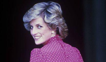La princesa Diana, en Roma en abril de 1985.