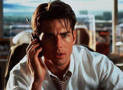 En <i>Jerry Maguire,</i> Tom Cruise interpreta a un profesional que lucha para no caer en las garras del cinismo.
