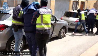La Policía detiene en Almería a uno de los yihadistas más buscados de Europa  POLICÍA NACIONAL 21/04/2020