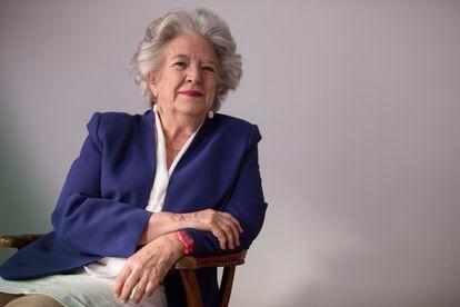 Maria Ángeles Durán, el pasado mayo en Madrid.