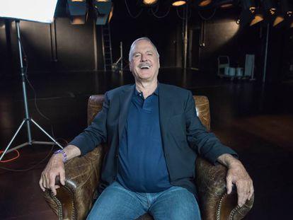 El actor británico John Cleese, el pasado 17 de febrero, en Sydney (Australia).