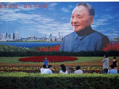 Cartel dedicado a Deng Xiaoping en Shenzhen, la primera ciudad que el líder planificó en 1978.