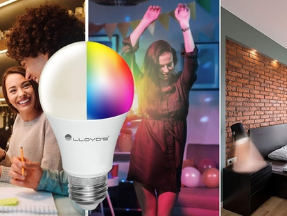 Con este foco inteligente podrás iniciar el proceso de tu casa inteligente a través de comandos de voz