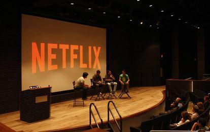 Los fundadores de la startup cubana se reunen con los empleados de Netflix.