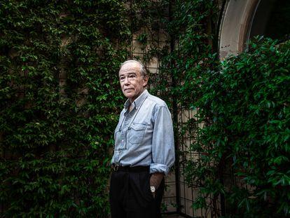 Gregorio Marañón Bertrand de Lis en su despacho.