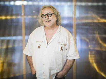 El compositor y miembro de La fura dels Baus Miki Espuma.