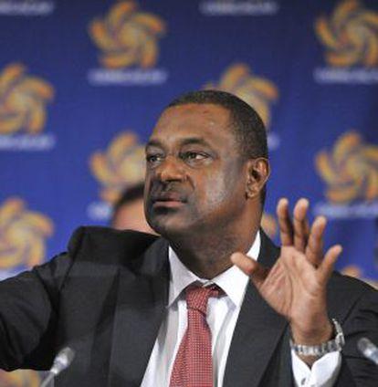 El presidente de la Concacaf, Jeffrey Webb, en una imagen tomada en 2012.