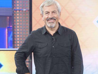 El presentador y productor Carlos Sobera