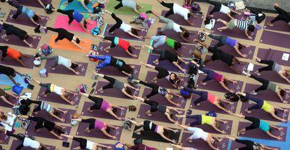 Hay varios tipos de yoga, según se busque una faceta espiritual, de relajación o una técnica de ejercicios.