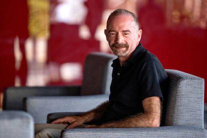 Timothy Brown, ayer, en el congreso sobre sida en Alicante.