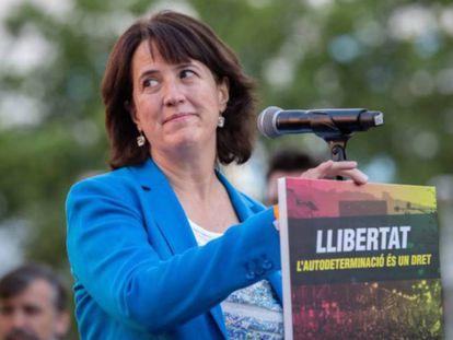 La presidenta de la ANC, Elisenda Paluzié.