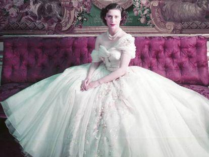 Cuando Christian Dior vestía a la princesa Margarita