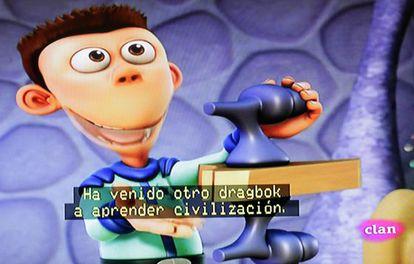 La serie 'Planeta Sheen', se emite subtitulada en Clan.
