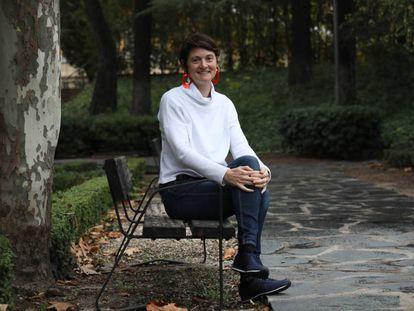 La urbanista Isabelle Anguelovski, en Madrid.