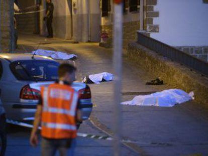 Los fallecidos son un varón de 50 años y sus dos hijos, de 29 y 17 años, que han perdido la vida debido a disparos de escopeta