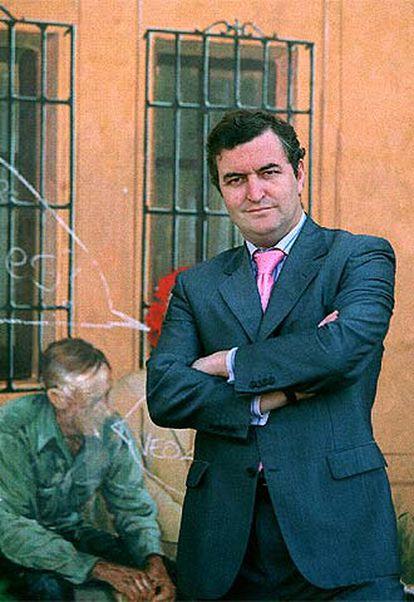 El ex concejal del Ayuntamiento de Madrid Sigfrido Herráez.