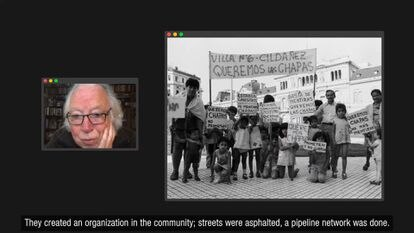 Roberto Baschetti recuerda en el microdocumental a Guillermo Abel Gómez, el primer argentino fallecido en el país.