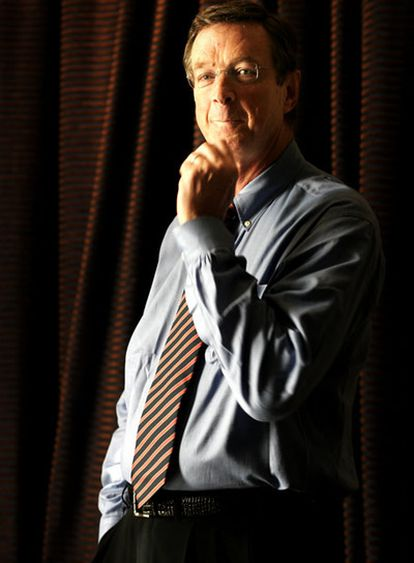 Michael Crichton, en una imagen de archivo