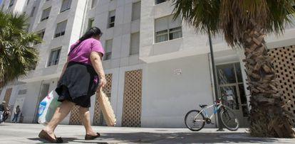 Promoción de viviendas sociales del Matadero, en Cádiz