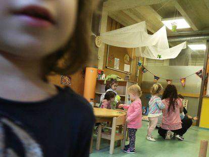 Escuela Infantil San Antón, en Madrid.