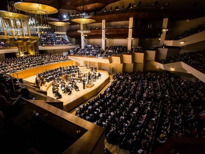 Concierto de El Mesías en el Auditorio Nacional.