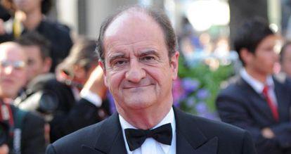 Pierre Lescure llegando a la ceremonia de clausura del 63 Cannes Film Festival, en el año2010