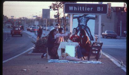 'First Supper (After a Major Riot)', 1974.
