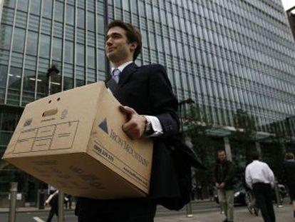 Lehman era como una venda que tapaba una herida abierta en canal y cuando se quitó empezó a desangrar a borbotones