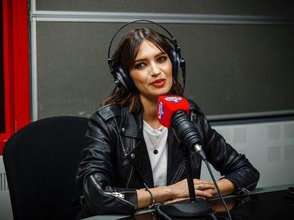 Sara Carbonero en Radio Marca, en una imagen publicada en su Instagram.