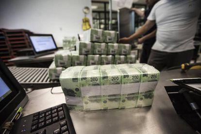 La fábrica de billetes mexicanos.