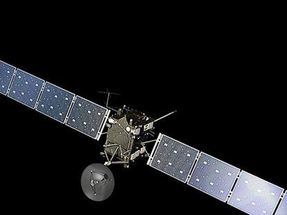 La sonda europea Rosetta.