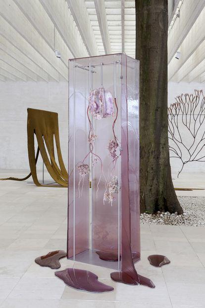 'States of Inflammation' (2019), obra de Ane Graff que se exhibe en la Bienal de Liverpool.