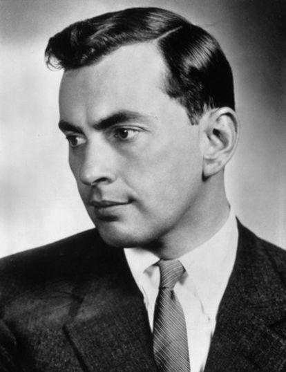 Gore de Vidal, retratado hacia 1955.