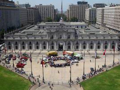 Vista general del Palacio de La Moneda en Santiago de Chile. EFE/Archivo