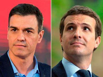Todos los partidos se arrogan la victoria en la primera confrontación de los cuatro candidatos