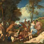 . La bacanal de los andrios Tiziano Óleo sobre lienzo, 175 x 193 cm 1523-26 Madrid, Museo Nacional del Prado