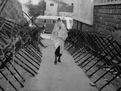 Imagen en la ciudad de Argel, en 1961, durante la guerra de independencia del país.