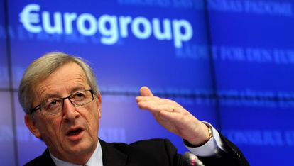El presidente del Eurogrupo Jean-Claude Juncker