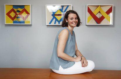 Carmen Torrijos trabaja como lingüista en el Instituto de Ingeniería del Conocimiento.