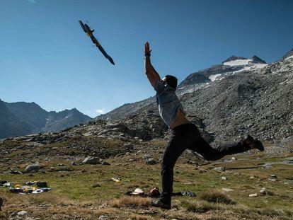 Drones para vigilar la desaparición de los glaciares