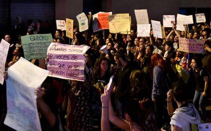 Protestas en las calles de San José