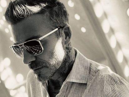 Una imagen de la nueva colección DB-Eyewear, difundida por Beckham en sus propias redes sociales.